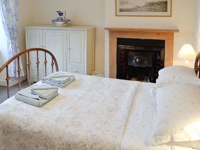 Double room with original fireplace