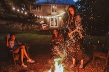 Gather around the fire for a round of 'smores and please be mindful of our neighbors an extra mindful after 9pm.