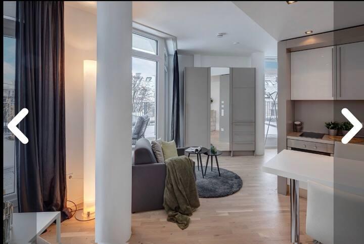 Apartment mit großer Dachterrasse in Bogenhausen