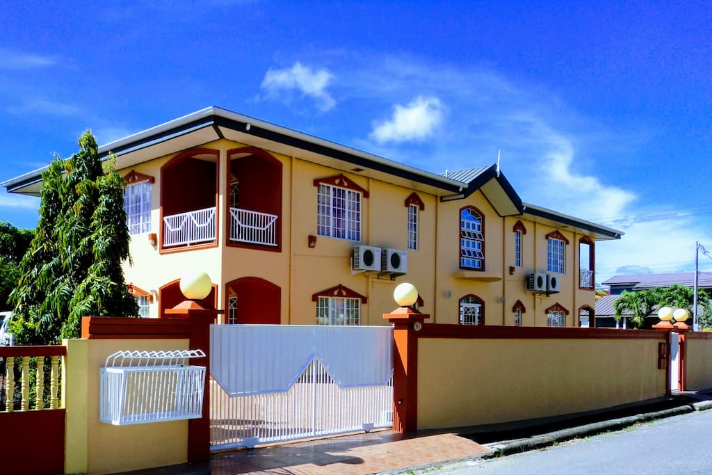 Gated secured premises