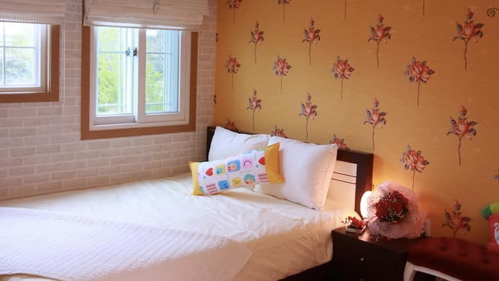 레몬룸, 예쁜 정원이 있는 낙산해변 도보 5분의 커플룸