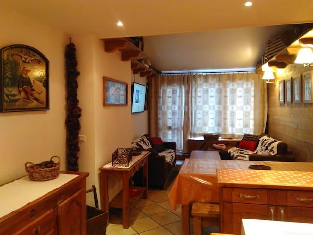 Duplex 9 Pax Tignes Val Claret WiFi Pied de pistes - Tignes - Appartamento