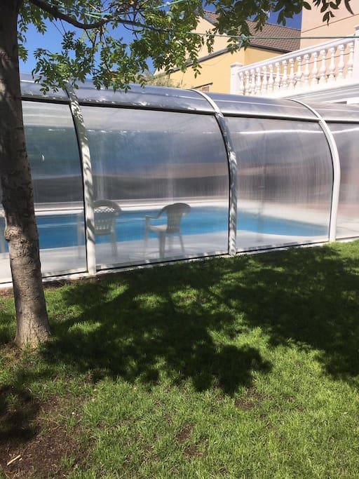 Amplio chalet con piscina en rivas chalets en alquiler en rivas vaciamadrid comunidad de - Piscina rivas vaciamadrid ...