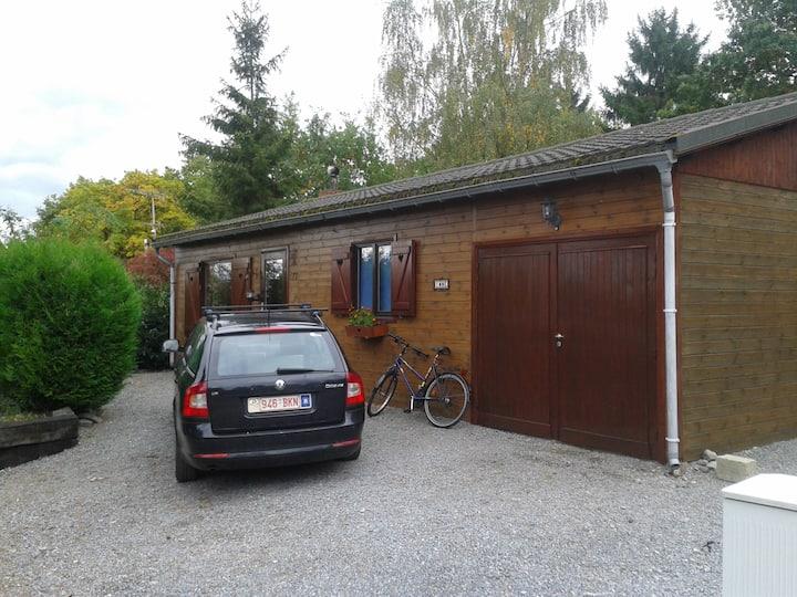 Ardennes chalet Imme-Tellin - de Lesse. 6-8p