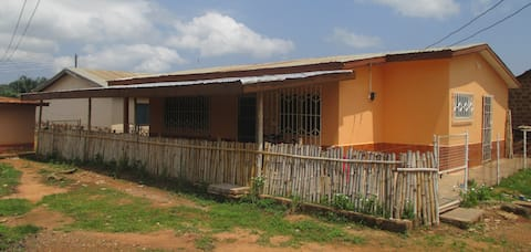 Emo House Kpando the gate to Lake Volta