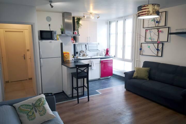 Chambre seule en colocation - Metro St Cyprien (2)