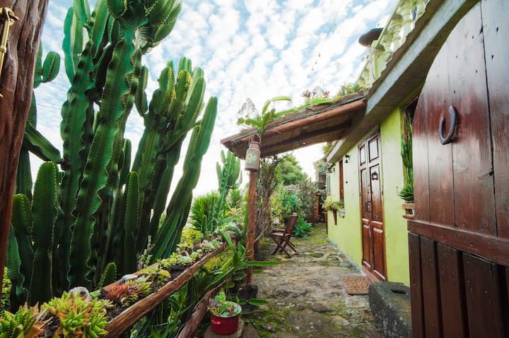 Habitación Kiwi,baño y cocinita privada, La Palma