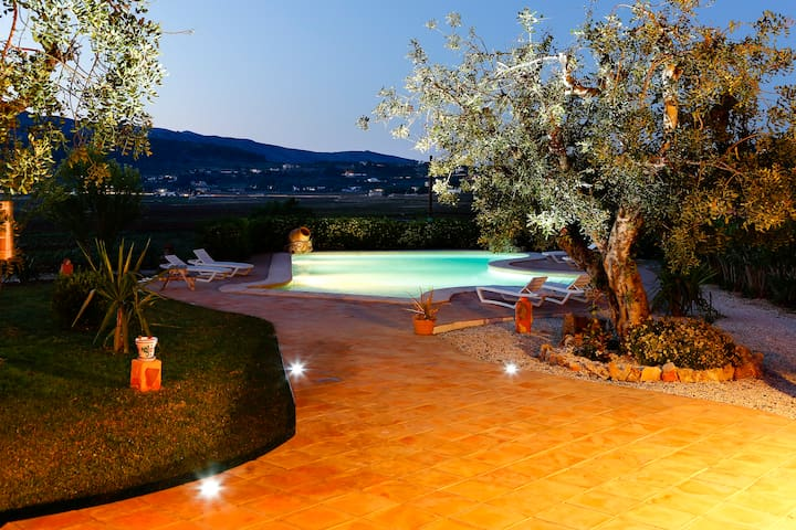 Villa con espectaculares vistas