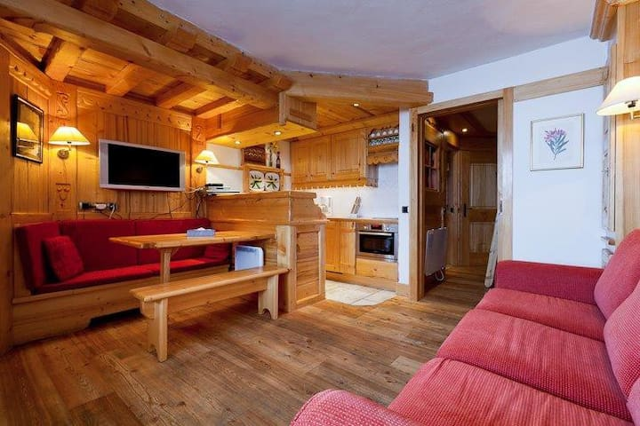 Appartement cosy Courchevel 1850 - Saint-Bon-Tarentaise - อพาร์ทเมนท์