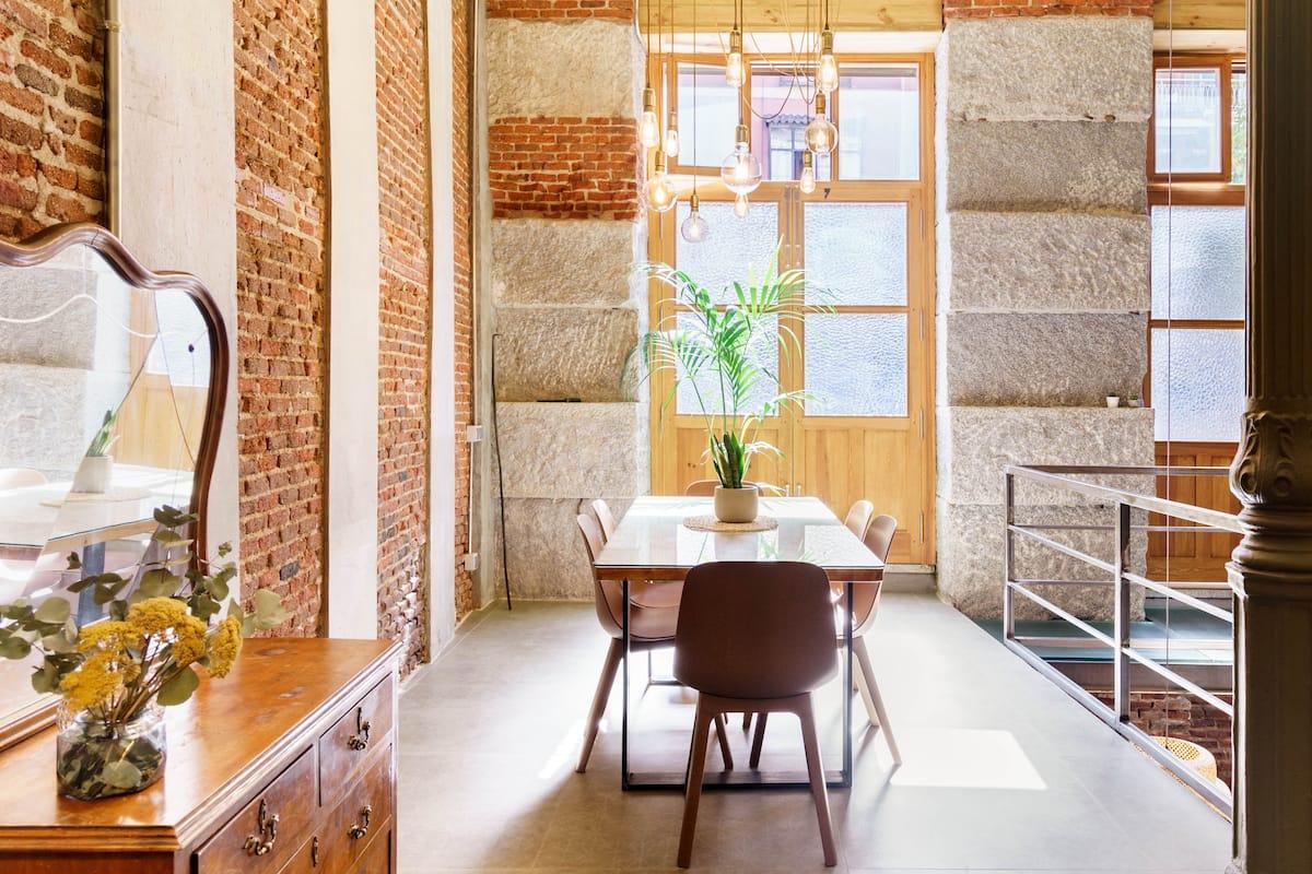 Get a Taste of Authentic Madrid at a Rustic La Latina Loft