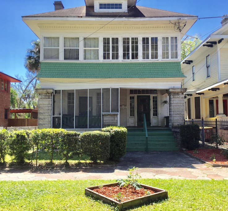 Houses For Rent In Jax Beach: Apartment In Historic Springfield Home