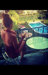 T1 Meublé dans villa avec piscine - Ribiers - Appartement
