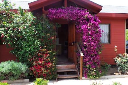 Cabaña 5 personas entera piscina cancha y jardín - Limache