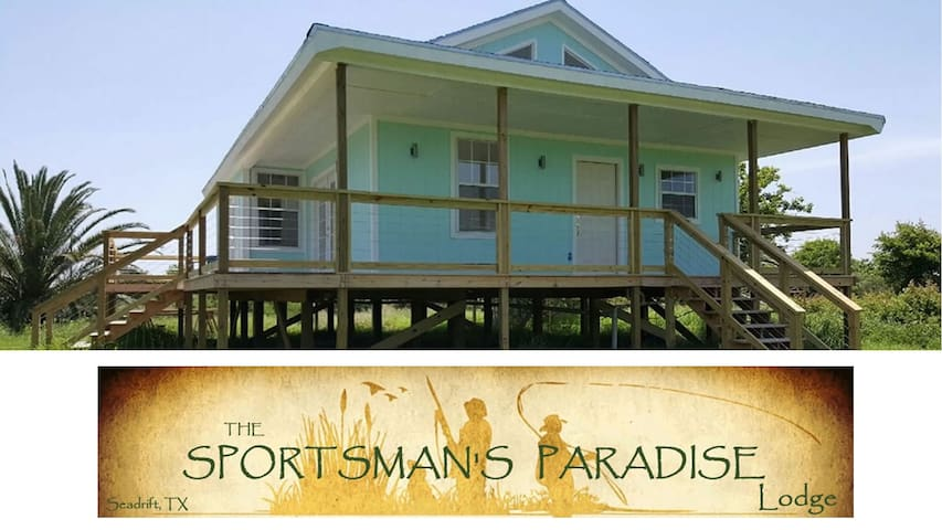 Sportsman's Paradise Lodge - Seadrift - Rumah