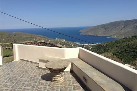 Tourlos apartment aegean view