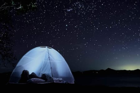 Camping in Ginto Island