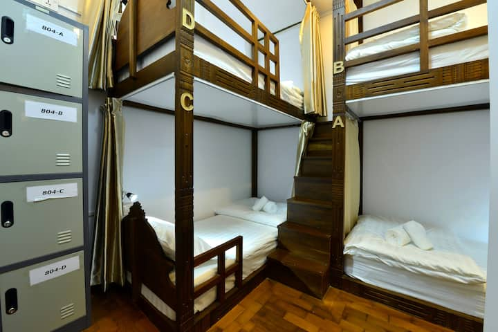 4 Bed Female Dom (Backpacker Bed And Breakfast)