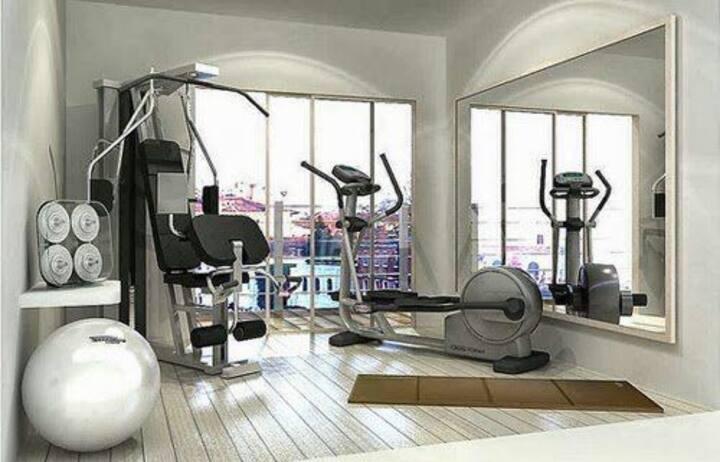 Sinclair apartament Pool + gym + garage