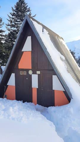 chalet Guzet neige