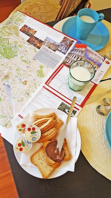 In the house you will find a lot of touristic informations and tips for local restaurants
