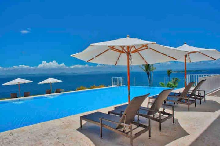 Ocean front Samana Luxury Vista Mare 2 Bedroom Apt