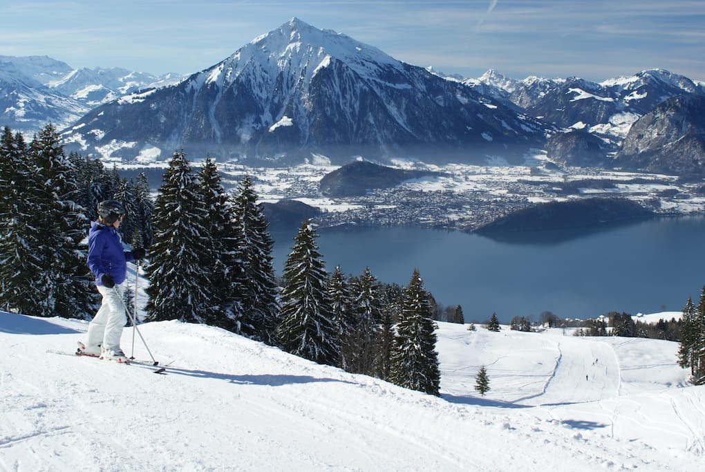 Ski area only 10min away, with incredible views