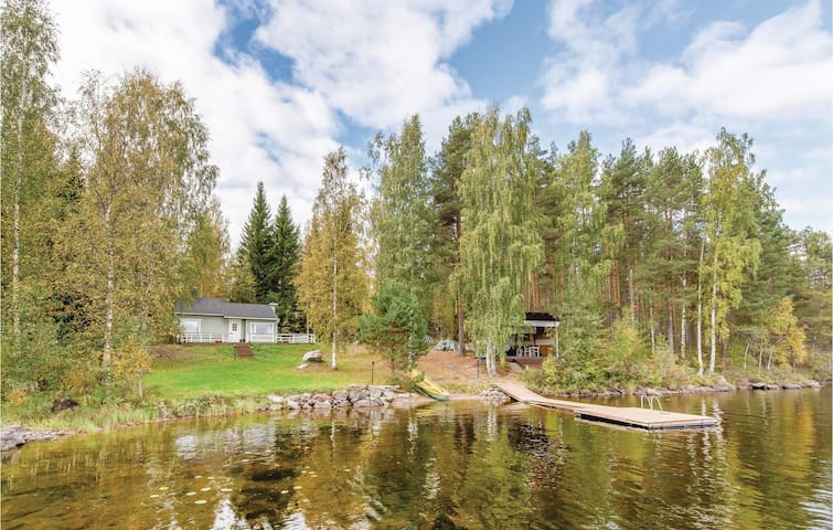 Holiday cottage with 1 bedroom on 54m² in Mikkeli