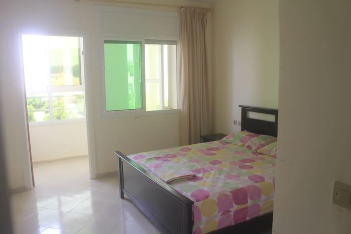 Appartement/Residence El Nahda2/15min de la plage