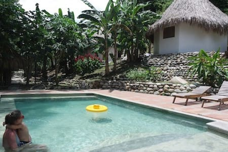 Nature, river, swimming pool, Finca Carpe Diem 2 - Minca - Natur lodge