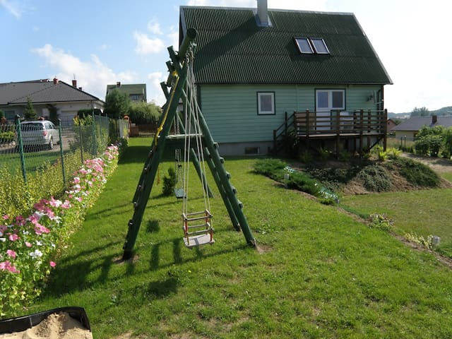 Zielony Domek - Maszewo Lęborskie - House
