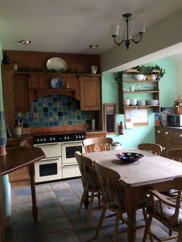 Committed to cleaning protocol)house inAshbourne
