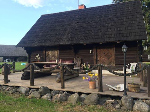 Cozy private sauna house