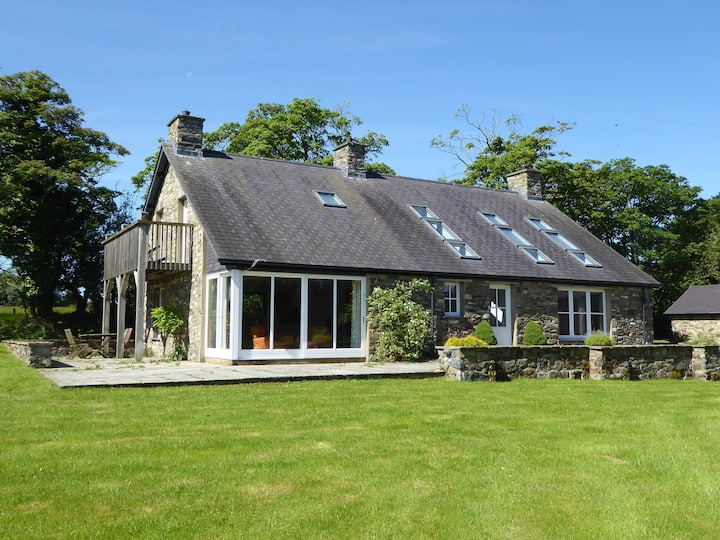 Bryn Isaf, a luxury house on a nature reserve