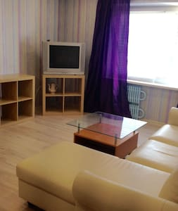 Three bedrooms apartment, 15 min from metro on bus
