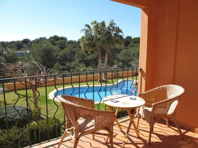 Apartamento con terraza y jardin - Vallgornera Lluc Mayor - Apartamento