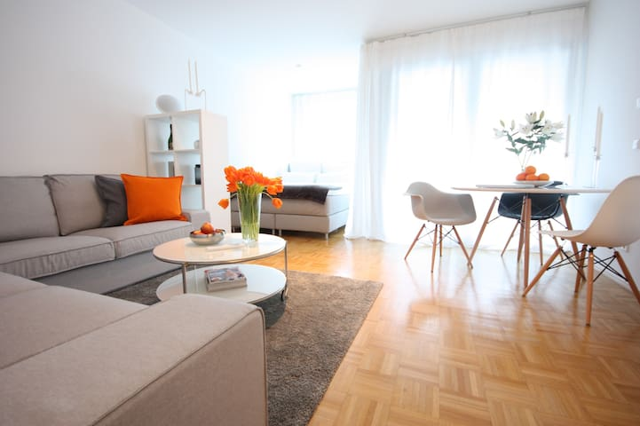 Modernes City-Apartment am Appellhofplatz
