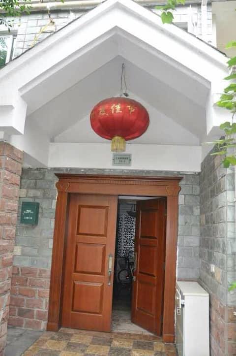 位于中国重庆市巴南区一品镇汇景湾别墅小区、享受清静的居住环境