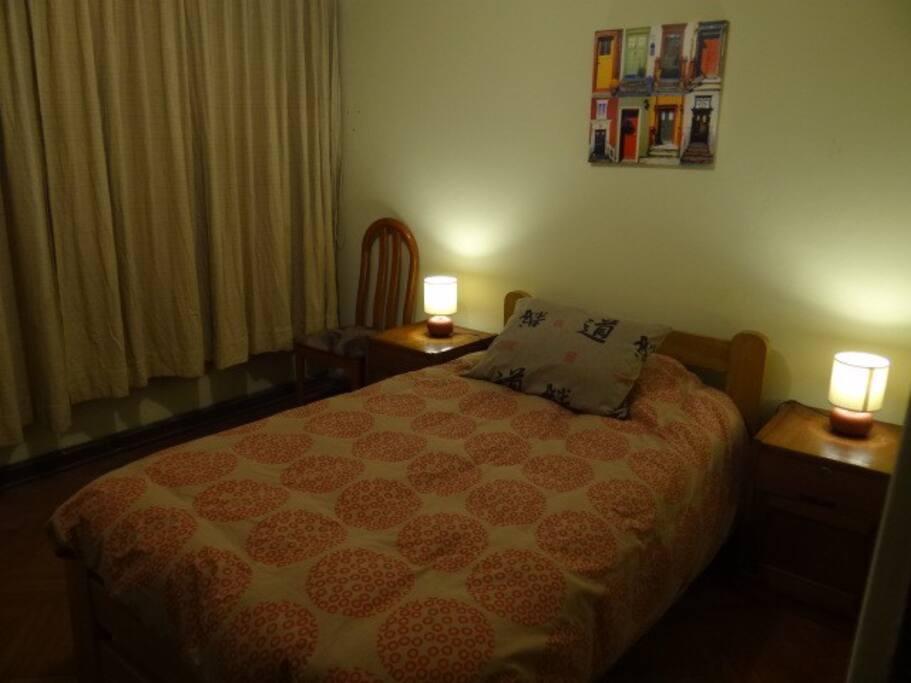 Habitacion posibilidad de dos camas