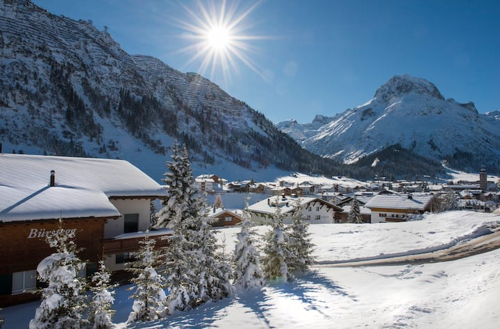 Nidus Apartment 4, a brand new luxury apartment in the heart of Lech