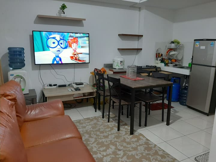 3 bedrooms apartement in front of the mall