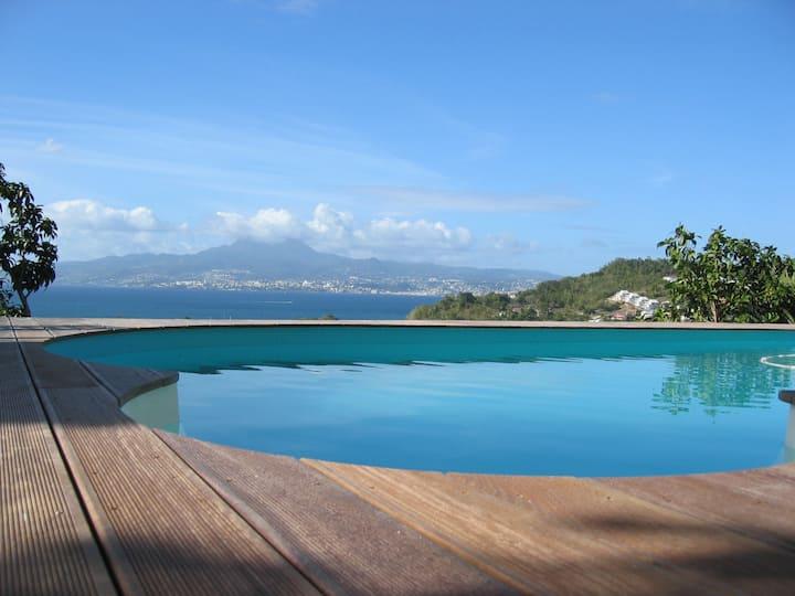 Villa Cannelle T3 vue mer panoramique