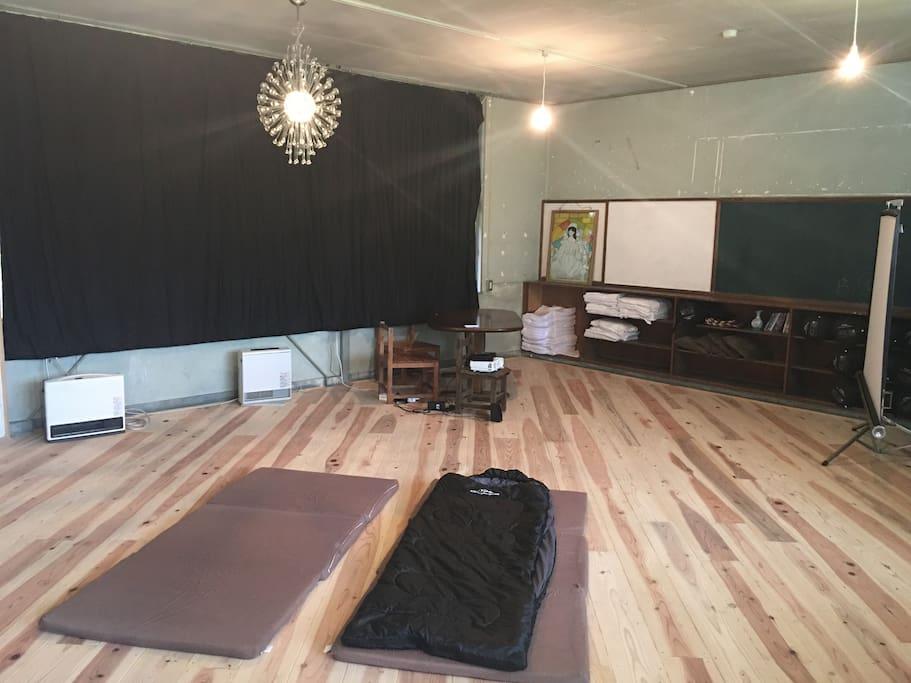 広々とした寝袋のお部屋 - 204 Sleeping Bag Room