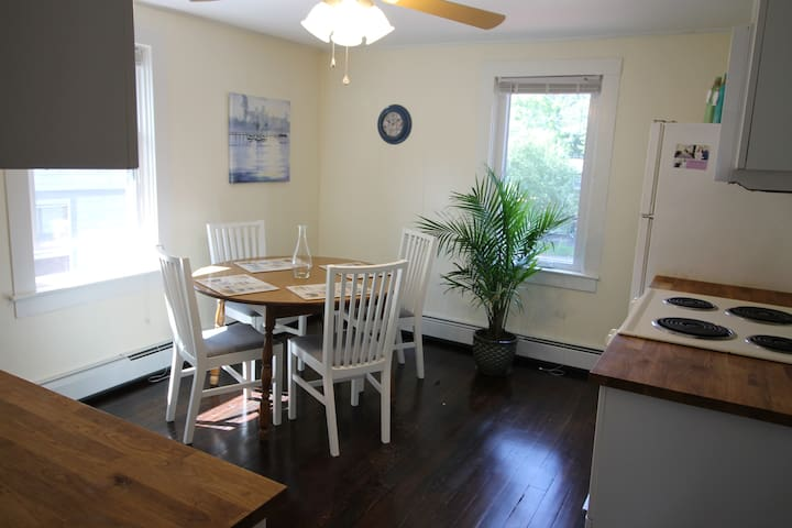 New! 2nd Floor Pier Area Apt - Walk to Town Beach!