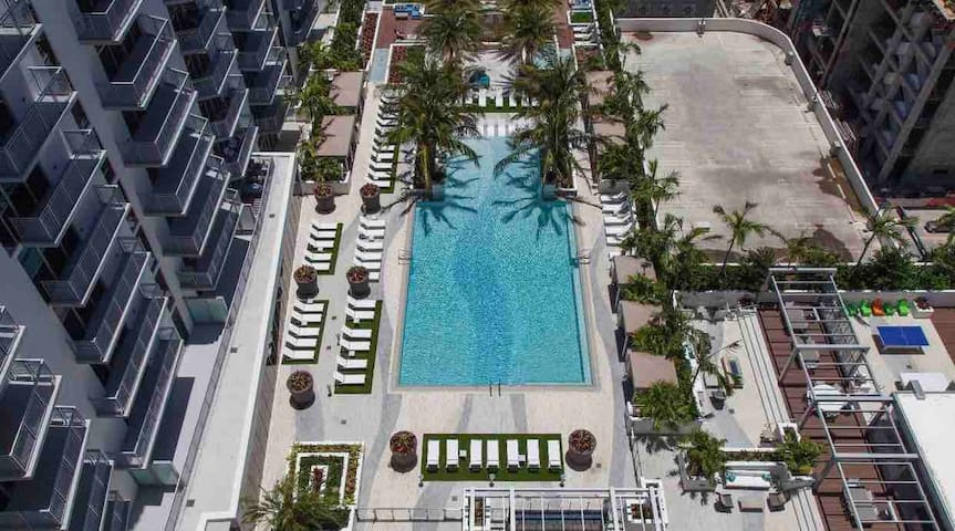 *LUXURY APARTMENT IN BRICKELL* - FREE PARKING