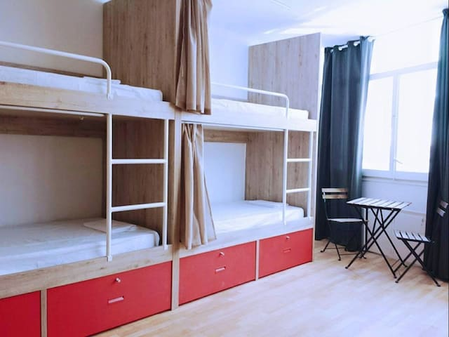 Single Bed in 14 bed Mix Dormitory