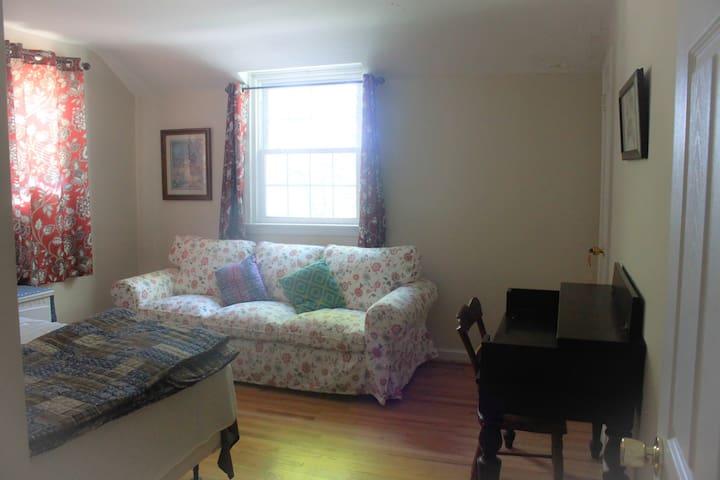 Sunny room in suburb of Philadelphia