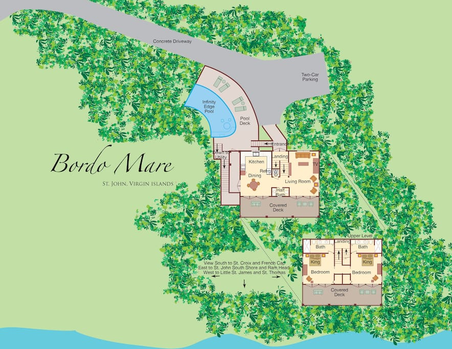 Full Floor Plan for Bordo Mare