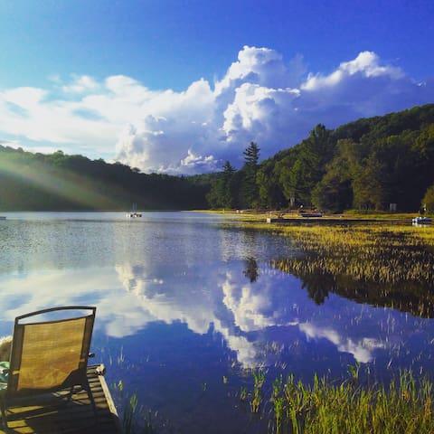 Nature Nirvana on South Portage Lake