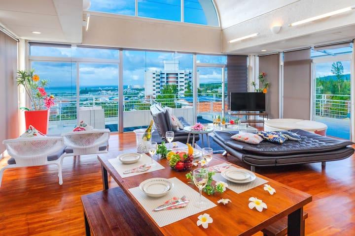 【Onna Village Hibis Resort】 Wonderful Ocean View!!