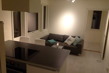 Modern and quiet apt, 15m from Oslo - Bærum